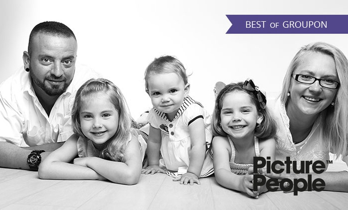 90 od. 105 Min. Family-/Kids-Fotoshooting-Erlebnis inkl. Make-up u. 3-4 Bildern als Ausdruck u. Datei bei PicturePeople