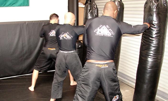 Primal Training Center - Scripps Ranch: Four or Six Weeks of Unlimited Brazilian Jiu-jitsu, MMA, and Boot-Camp Classes at Primal Training Center (Up to 84% Off)