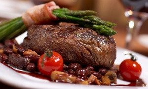 New Steine Bistro: Three-Course A La Carte French Meal for Two or Four at New Steine Bistro (Up to 61% Off)
