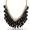 Crystal Waterfall Bib Necklace