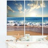 Gallery-wrapped Beach and Shore Canvas Artwork