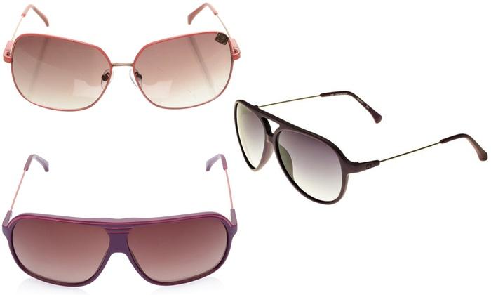 Groupon Goods Global GmbH: Occhiali da sole Calvin Klein disponibili in vari colori e modelli