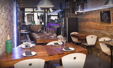 Menú para 2 o 4 con surtido de tapas, principal, postre y bebida desde 19,95 € en Restaurant Cal'Fusta