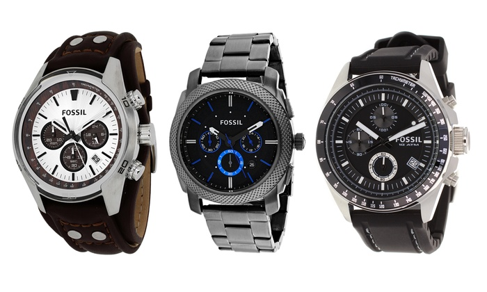 fossil s watches groupon