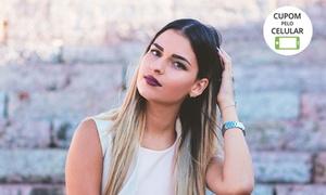 Ely Cabeleireira: Ely Cabeleireira – Várzea Grande:mechas ou ombré hair, tonalização e escova (opções com hidratação ou cauterização)