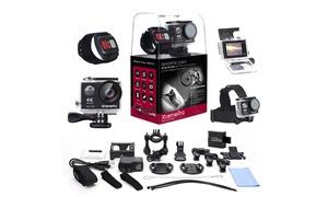 XtremePro 4K UHD WiFi Sports Camera Bundle