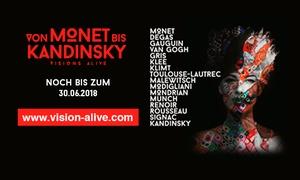 """Ausstellung """"Von Monet bis Kandinsky"""": 2 Tickets für Blockbuster-Ausstellung """"Von Monet bis Kandinsky"""" vom 14.05.-30.06. in der Alten Münze Berlin (40% sparen)"""