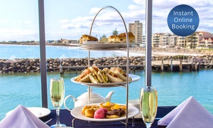 Sammy's on the Marina: Ocean View Sparkling High Tea for Two ($49), Four ($95) or Six People ($139) at Sammy's on the Marina (Up to $297 Value)