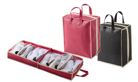 One or Two Travel Shoe Organisers in Choice of Colour