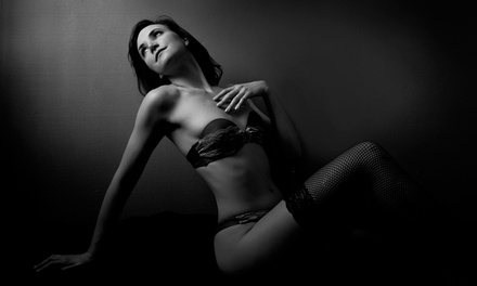 60-Minute Boudoir Photo Shoot with Optional Professional Styling at Maria Hruschak Photography (Up to 56% Off)