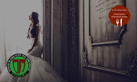 Curso doble de 160h en Protocolo, comunicación y marketing y en Wedding planner con Unidema