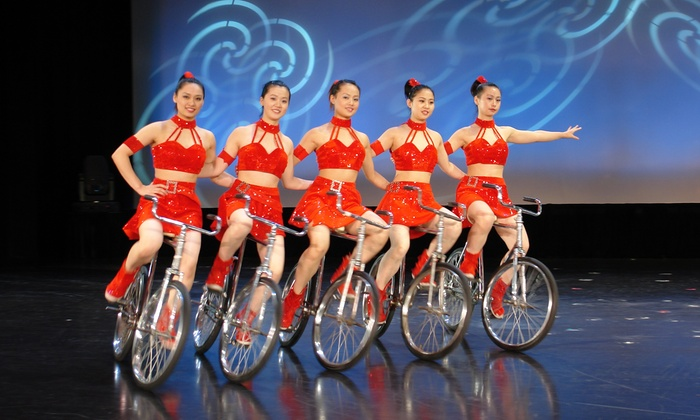 The China Circus feat. The Anhui Acrobats Of China - The Orpheum Theatre: China Circus Feat. The Anhui Acrobats Of China at The Orpheum Theatre on Friday, October 10 (Up to 57% Off)
