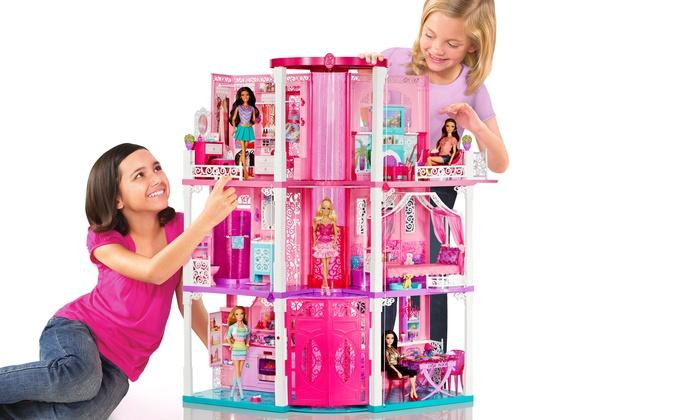 Deals on barbie dream house