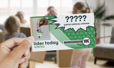Paga 0 en Groupon y entra en el sorteo de una vivienda en Valencia por 10€ con LÍDER TODAY SORTEO DE VIVIENDA