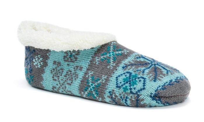 Muk Luks Ballerina Slipper Socks