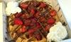 Waffles or Crepes with Slushie
