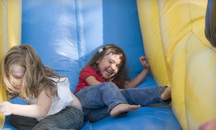 Pump It Up - Newport: $20 for Five Pop-In Play Sessions at Pump It Up ($40 Value)
