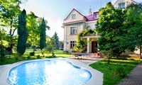 Prague: 1 to 3 Nights For Two With Breakfast, Pool Access and Parking; With Option For Half Board at Hotel Marie-Luisa