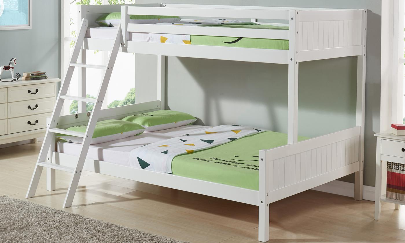 Triple Bunk Bed Frame with Optional Single and Small Double Mattresses (£429)