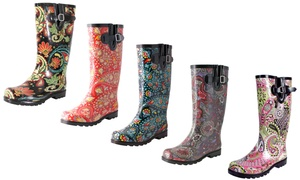 Nomad Footwear Women's Printed Paisley Rain Boots