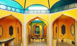 Dar Al Hikma: Menu arabo di 5 portate con cous cous e tajin e ingresso di 2 ore all'Hammam per 2 persone da Dar Al Hikma