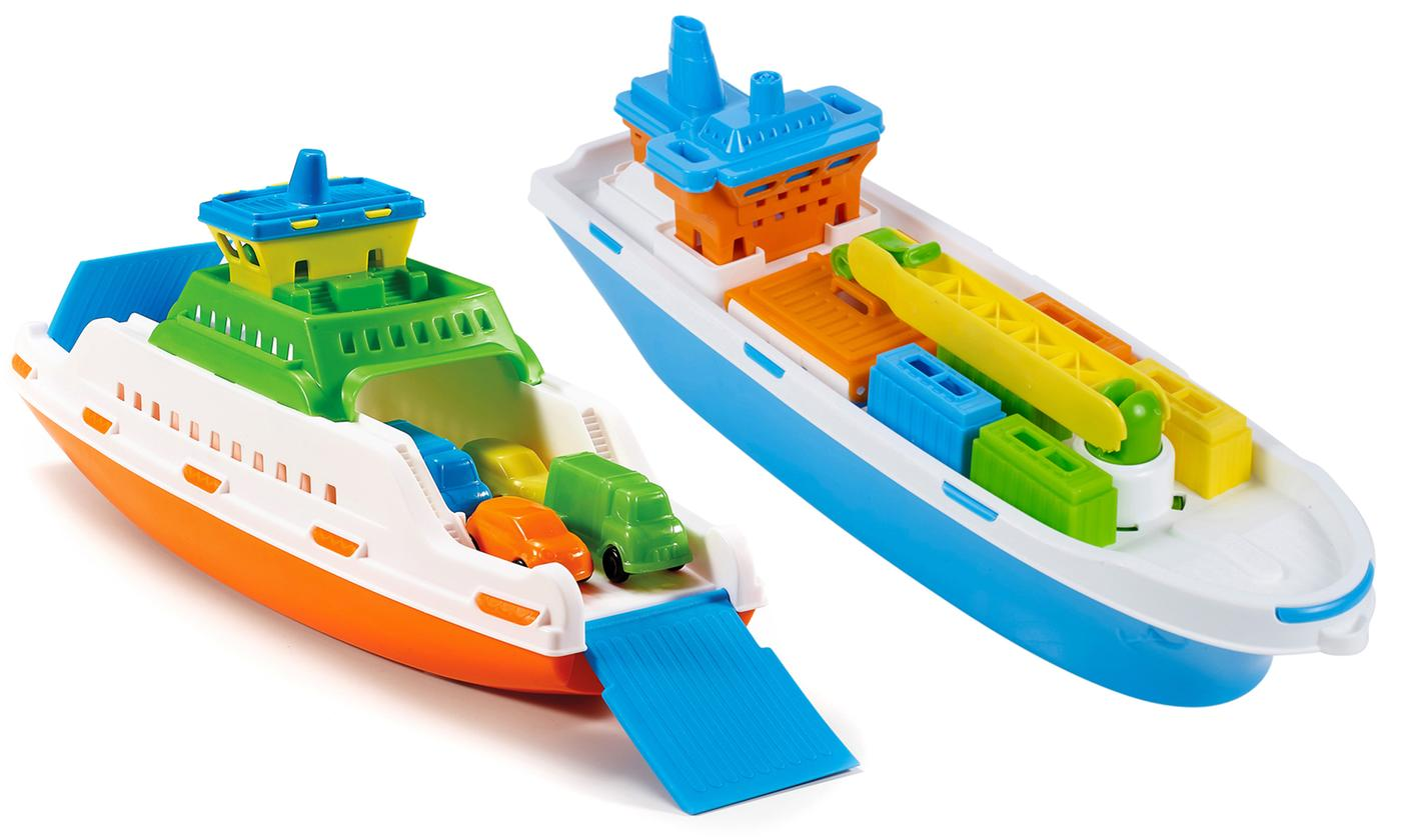 Floating Toy Ferry or Cargo Ship