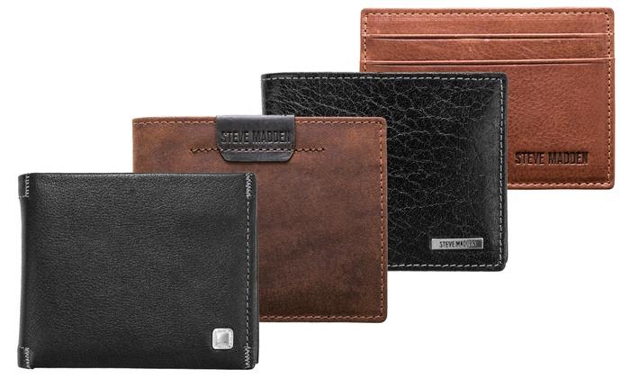 Steve Madden Leather Wallets