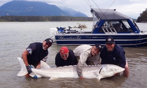 Swiftwater Guiding: Four-Hour Sturgeon-Fishing Trip for Two or Four from Swiftwater Guiding (Up to 62% Off)