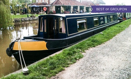 Wiltshire: 1- or 3-Night Narrowboat Hire for Up to Eight with Instruction Course with Sally Narrowboats
