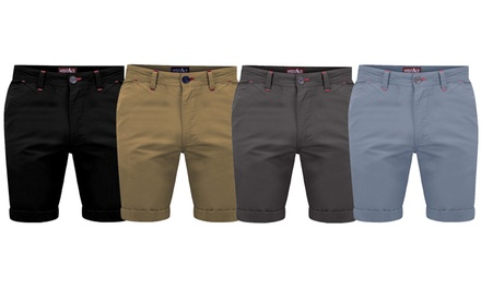Westace Mens Chino Shorts