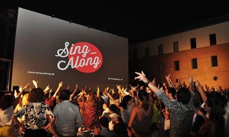 Entrada para el Sing-Along del 9 de agosto al 3 de septiembre desde 6 € en Poble Espanyol