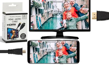 Câble HDMI et Micro USB