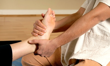 One or Two Reflexology Sessions with Head, Neck, and Shoulder Massages at Valley Massage Therapy (Up to 62% Off)