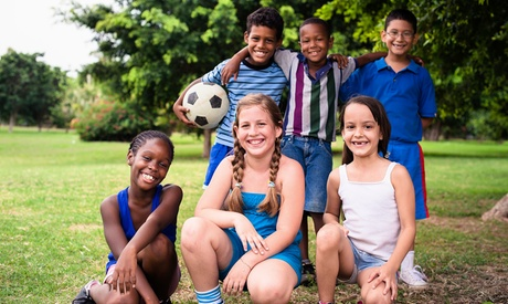 Two-Hour Basic Kids Soccer Birthday Party or Team Party with Pizza and Soda at Goals Soccer Center (48% Off) 0b8ef171-2143-7324-12ab-4aec50c83d5c
