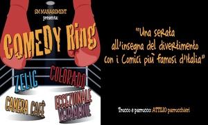 Comedy Ring, Teatro Italia Roma: Comedy Ring - il 17 novembre al Teatro Italia di Roma (sconto 50%)
