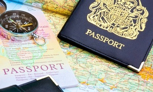 H2T Photography: Six Passport ID Pictures or Two Keepsake Photos at H2T Photography (Up to 67% Off)