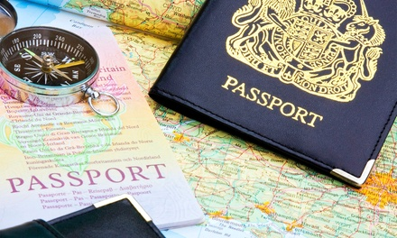 Two or Four Passport Photos at WelCare Supply (Up to 57% Off)