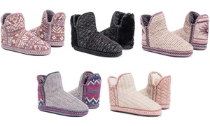 MUK LUKS Women's Slippers | Groupon Exclusive