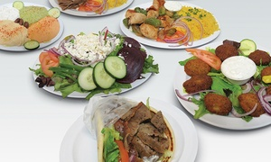 Pita Cafe (17025 N Scottsdale Road): Greek and Mediterranean Food at Pita Cafe (40% Off)