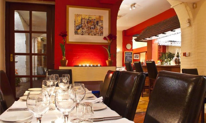 Banks Bar Bistro - Banks Bar Bistro: Two-Course Meal for Two or Four at Banks Bar Bistro (Up to 46% Off)