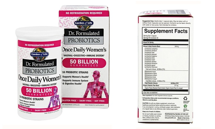 Garden of life probiotics once daily women s garden ftempo - Garden of life once daily women s probiotic ...
