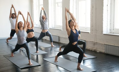 Ten Hot Yoga Lessons at AM Power Yoga and Pilates (78% Off)