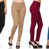 Women's Plus Size Slimming 5-Pocket Skinny Pants (3-Pack)
