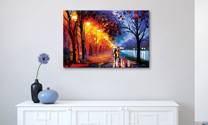 Up To 66% Off on Leonid Afremov Canvas Wall Art | Groupon Goods