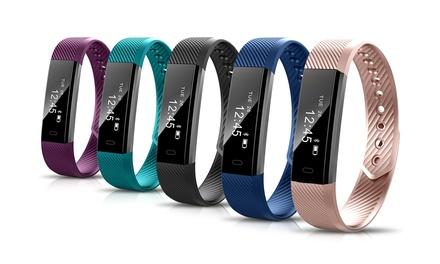 Activity Tracker con monitoraggio della salute e IOS APP, disponibile in 5 colori
