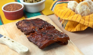 Kenny's Ribs & Chicken - Merrillville: Half or Full Slab Rib Dinner with Sides at Kenny's Ribs & Chicken - Merrillville (Up to 35% Off)