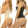 Women's High-Compression Thong Bodysuit in Regular and Plus-Sizes
