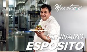 Lezioni di cucina con Gennaro Esposito - Maestro.it: Lezioni di cucina con Gennaro Esposito offerte da Maestro.it (sconto 64%)
