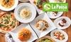 LaPausa(ラパウザ)全国11店舗対象 食べ放題コース3種類(ドリンクバー付き)
