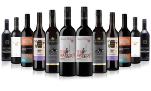 12-Bottle Case of Mixed Premium Red Wines